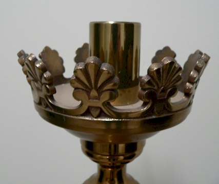 Used Bronze Candlesticks